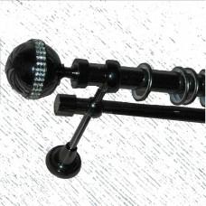 Кованый карниз, двойной(25 и 16 мм)