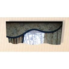 Жесткий ламбрекен для шторы