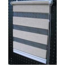 Ролеты (рулонные шторы) день-ночь открытого типа