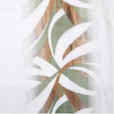 Ткань компаньон: органза с рисунком «камуфляж»