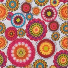 """ткань коллекции """"Солнечные краски"""", цветы"""