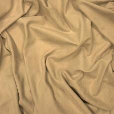 """""""Велюр-бархат"""".  Светло-коричневая ткань для штор"""